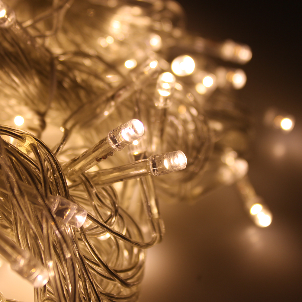 String Lights For Home Decor : 300 LED Outdoor Christmas Party String Light Wedding Curtain Light Home Decor eBay