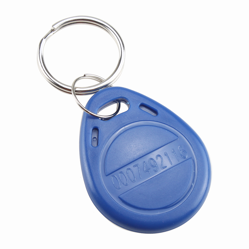 10pcs rfid proximity door entry key fobs for access for Door entry fobs