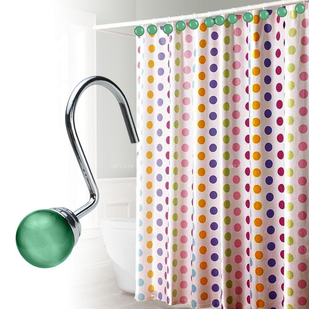 Rhinestone shower curtain hooks - Description Every Agptek Curtain Hook