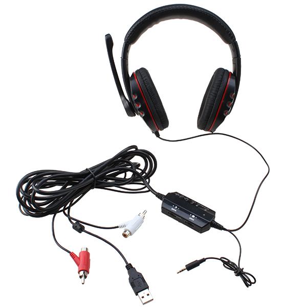 Gaming earbuds usb - headphones ps4 usb