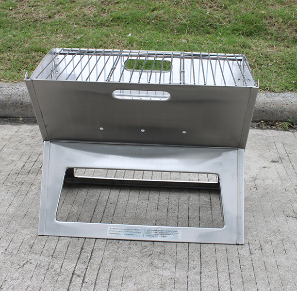 foldable barbecue stainless grill hotspot notebook. Black Bedroom Furniture Sets. Home Design Ideas